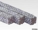 碳素纤维盘根浸四氟